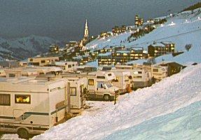 Aire Camping Car Alpes Huez