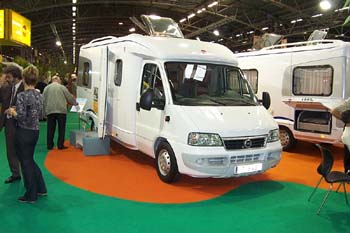 Burstner 08 for Salon du camping car le bourget