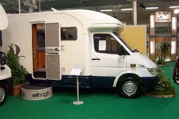 Elnagh 01 for Salon du camping car le bourget